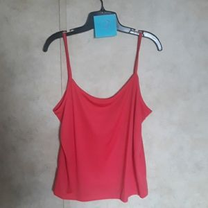 Tank top with flare skirt